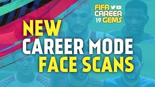 New FIFA 18 Career Mode Face Scans