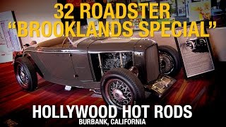 32 Roadster 'Brooklands Special' Hollywood Hot Rods - SEMA 2014 - Eastwood