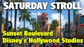 Saturday Stroll down Sunset Boulevard | Disney