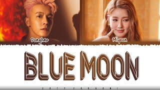 Download DONGHAE - 'BLUE MOON' [Feat MIYEON of (G)I-DLE] Lyrics [Color Coded_Han_Rom_Eng]