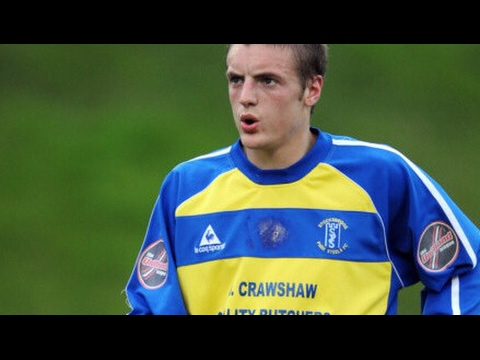 Jamie Vardy goal against FC United of Manchester when he was playing for Stocksbridge Park in 2009