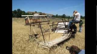 1920s McCormick Deering Grain Binder