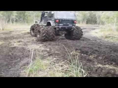 джипы грязь большие колёса