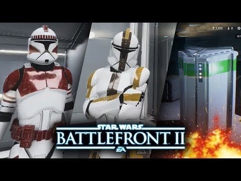 Star Wars Battlefront 2 - Phase 1 Clone Customization! No More Microtransactions Ever Again?