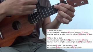 Rivers of Babylon - Boney M - Ukulele cover play along with chords and lyrics