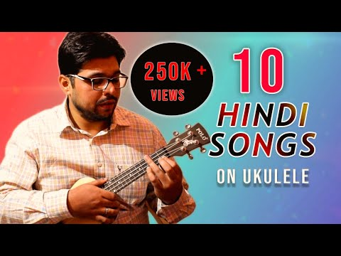 Play 10 hindi songs in 10 minutes on Ukulele