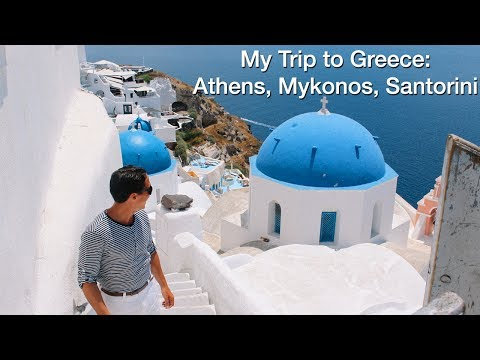 WEBISODE 13: RIDING A DONKEY IN GREECE! ATHENS, MYKONOS, SANTORINI