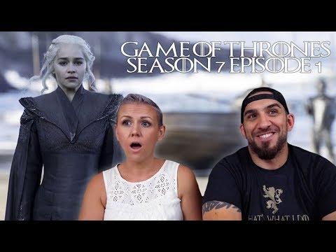 Game of Thrones Season 7 Episode 1 'Dragonstone' REACTION!!