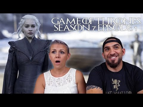 Game Of Thrones Season 7 Episode 1 'Dragonstone' REACTION!!