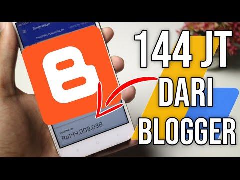 Cara Membuat Blogger di Hp yang Menghasilkan Uang