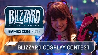 Blizzard Cosplay Contest at gamescom 2017