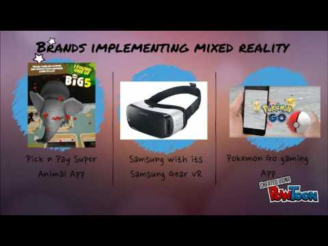 The use of mixed reality to drive engagement