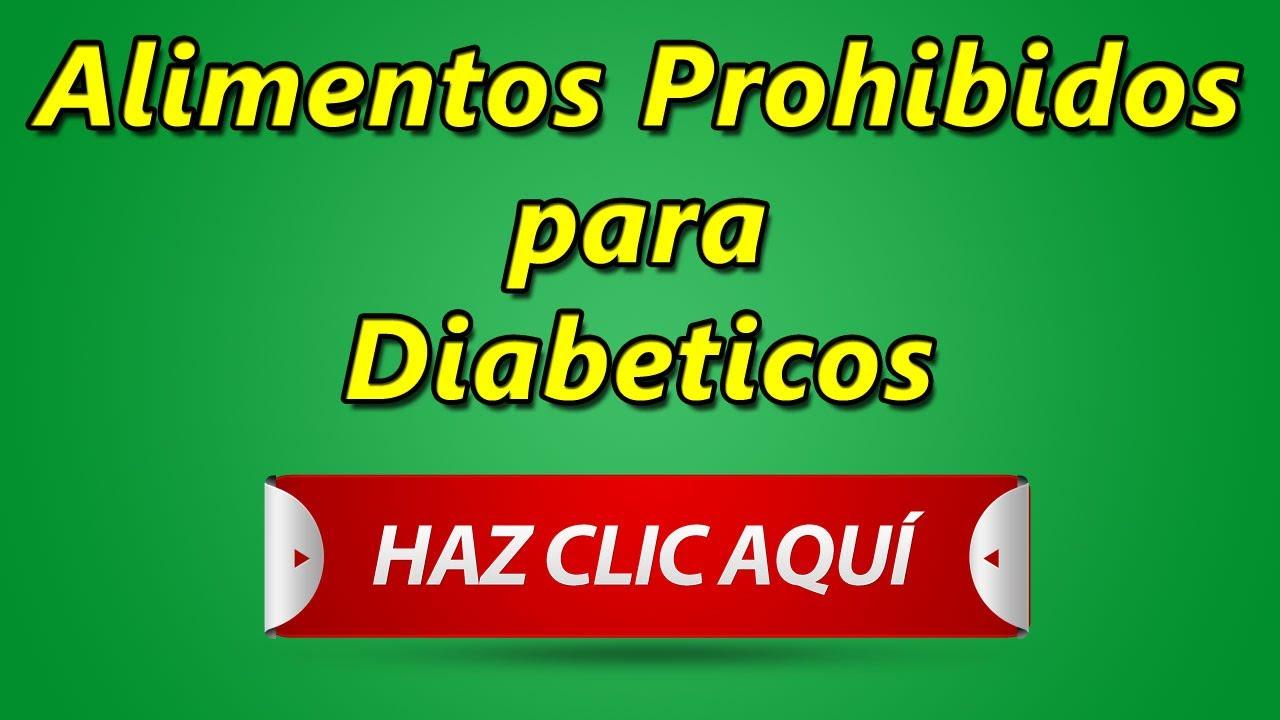 Alimentos prohibidos para diabeticos comidas que deben evitar youtube - Alimentos que no engordan para cenar ...