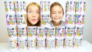 ON OUVRE 25 POOPSIE SLIME SURPRISE !!!