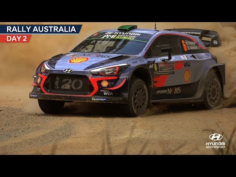 Rally Australia Day Two - Hyundai Motorsport 2018