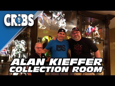 ALAN KIEFFER COLLECTION ROOM TOUR - MCE CRIBS - SIDESHOW PRIME 1 XM STUDIOS