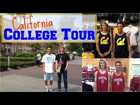 College Tour USC, UCLA, Berkeley, Stanford, Pepperdine, LMU, UC Davis