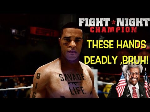 "COME GET THESE HANDS! ( FUNNY ""FIGHT NIGHT CHAMPION"" GAMEPLAY #1)"
