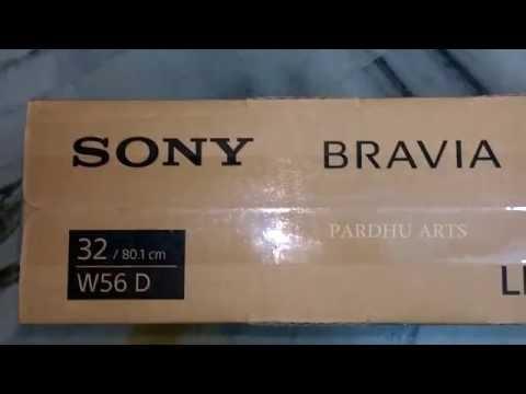 unboxing SONY BRAVIA KLV- 32W562D LED TV / Praveen Pardhu Stuff