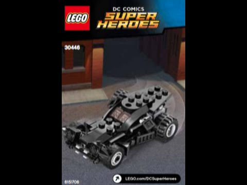 How To Build Lego The Batmobile 30446 Instructions Youtube