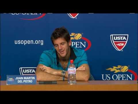 2009 US Open Press Conferences: J. Del Potro (Quarterfinals)