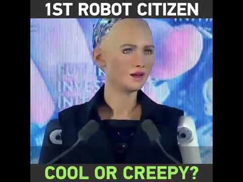 Robot Citizenship By Kingdom of Saudi Arabia
