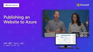 Publishing an Website to Azure  ASPNET Core 101 13 of 13