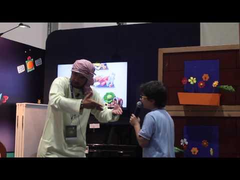 Abu Dhabi International Book Fair 2015 - Creativity Corner