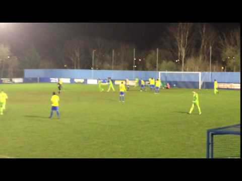 Pickering Town equalise against Albion Sports