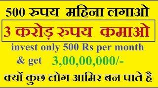 How to become rich by Abhishek Chouhan | कैसे करोडपति बने ।