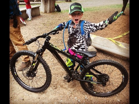 Evergreen take a kid MTB day 2017 at Duthie Hill WA