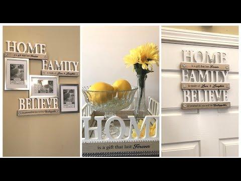 Dollar Tree DIY - 💕 2018 Spring Home Decor Ideas || Farmhouse Glam 💕