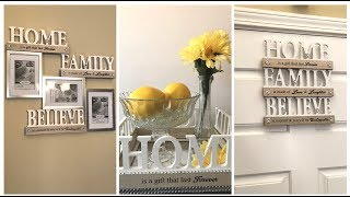 Dollar Tree DIY - 💕 2018 Spring Home Decor Ideas || Farmhouse Glam 💕
