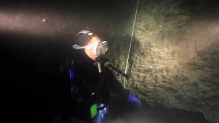 Höhlentauchen im Bergwerk in HD