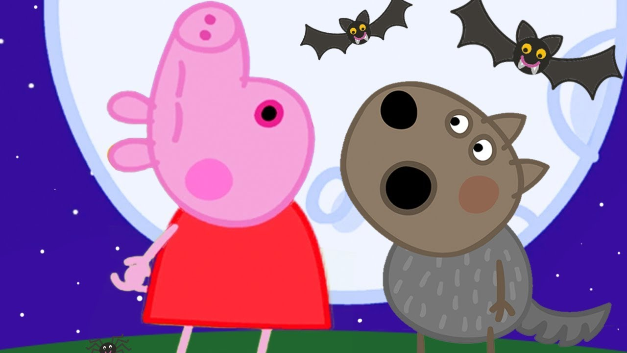 Peppa Pig Official Channel ???? Danny Dog 'Becomes' a Werewolf at Night | Halloween Specia