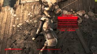 Fallout 4 Сет Тёмной брони Синтов И... пара меленьких приколов .