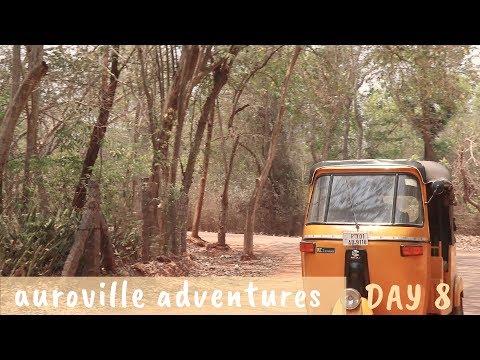 LAST DAY IN AUROVILLE _ Auroville Adventures Day 8