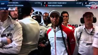 Mark Webber Horror Crash 6h Of Sao Paolo WEC 2014