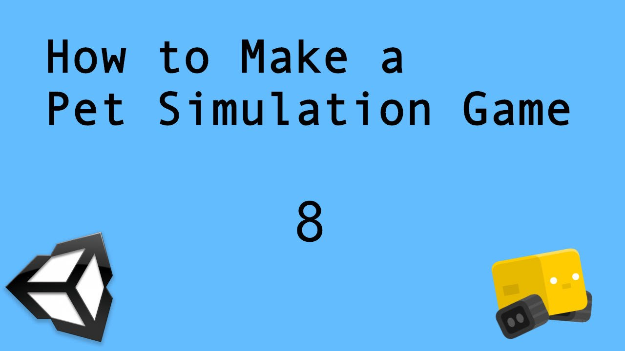 Unity3D Tutorial - How to Make a Pet Simulation Game 8: Basic Physics