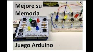 ✅ Mejore su Memoria con un Juego hecho con Arduino, SIMON DICE