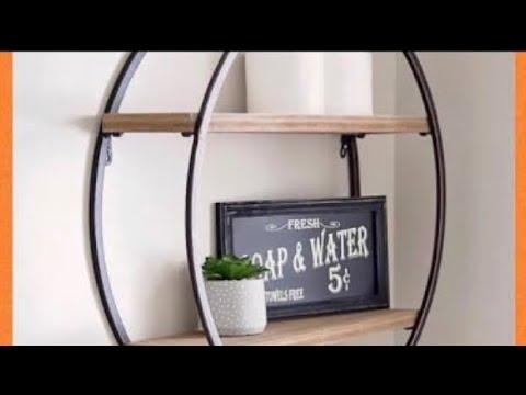 DIY Farmhouse Decor Dollar Tree Items Pinterest Inspired Wall Shelf Creating Elegance For Less