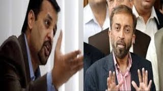 8 Nov press confidence farooq sattar and mustafa kamal