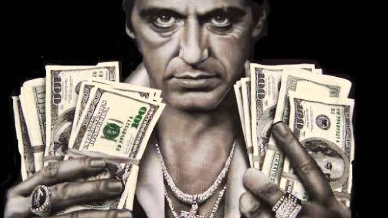 Tony montana scarface youtube - Money hd wallpapers 1080p ...