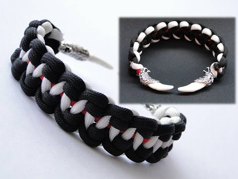 how to make a snake paracord bracelet