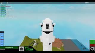 Roblox Plane Crazy Falcon 9 Dragon V2