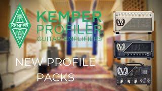 I'VE MADE NEW KEMPER PACKS | Victory Amps VX100 BD1 V140D