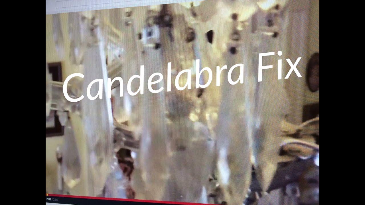 Repair chandelier candelabra light fixture socket with silicone repair chandelier candelabra light fixture socket with silicone mozeypictures Choice Image