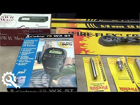 Toyota FJ Cruiser CB Radio Install DIY