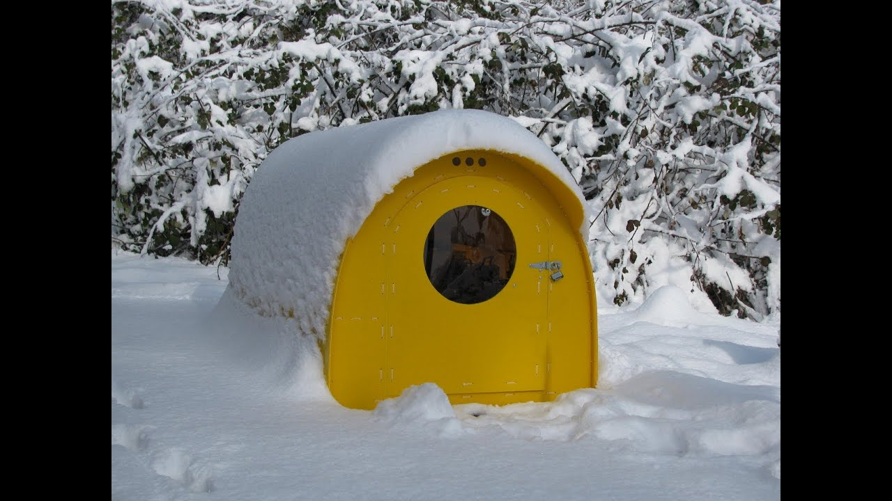 Portable Snow Shelter : Homeless or emergency shelter doovi