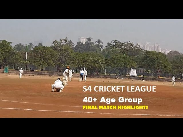 Highlights of 40+ Final Match S4 Cricket League | Dr. Rajesh Madhvi Thane Vs AB Group Alibaug